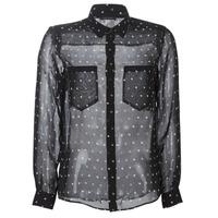 textil Mujer camisas Ikks BP12165-02 Negro