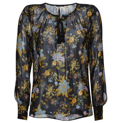 Ikks BP13125-02 Negro / Multicolor - Envío gratis | ! - textil blusas Mujer