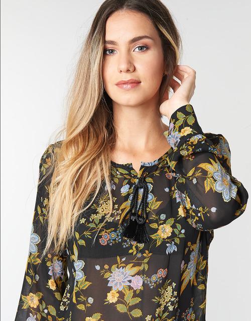 Multicolor Ikks 02 Negro Textil TopsBlusas Mujer Bp13125 Y6yvb7fg