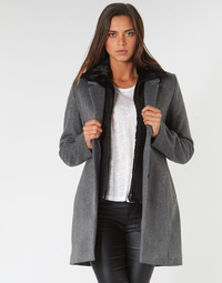 textil Mujer Abrigos Ikks BP44235-29 Gris