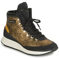 Zapatos Mujer Zapatillas altas Philippe Model MONTECARLO Oro / Negro