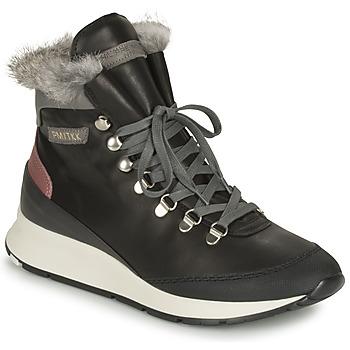 Zapatos Mujer Zapatillas altas Philippe Model MONTECARLO Negro