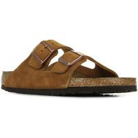 Zapatos Hombre Sandalias Birkenstock Arizona BS Marrón