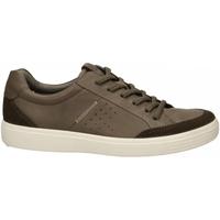 Zapatos Hombre Zapatillas bajas Ecco Soft 7 M TarmacDarkclay SuedeDroid tarmac-marrone