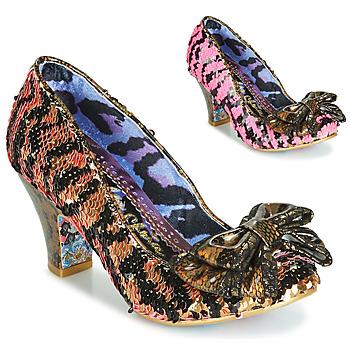 Zapatos Mujer Zapatos de tacón Irregular Choice LADY BANJOE Negro / Oro