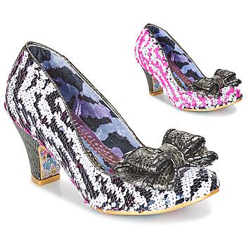 Zapatos Mujer Zapatos de tacón Irregular Choice LADY BANJOE Blanco / Negro