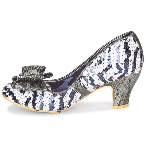 De Irregular Lady BlancoNegro Mujer Banjoe Choice Zapatos Tacón 76gyvYbf