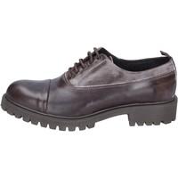 Zapatos Hombre Derbie & Richelieu Ossiani elegantes cuero gamuza marrón