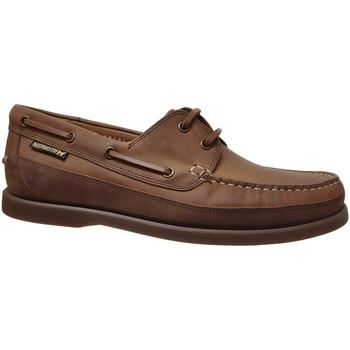 Zapatos Hombre Zapatos náuticos Mephisto BOATING Cuero marrón