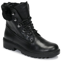 Zapatos Niña Botas de caña baja Geox J CASEY GIRL WPF Negro