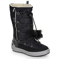 Zapatos Niña Botas urbanas Geox J SLEIGH GIRL B ABX Negro