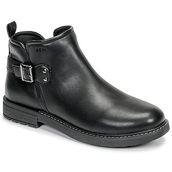Zapatos Niña Botas de caña baja Geox J ECLAIR GIRL Negro