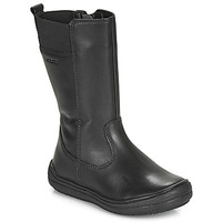 Zapatos Niña Botas urbanas Geox J HADRIEL GIRL Negro