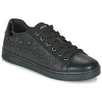 Zapatos Niña Zapatillas bajas Geox J DJROCK GIRL Negro