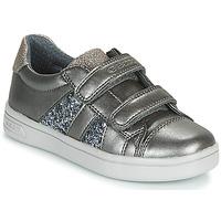 Zapatos Niña Zapatillas bajas Geox J DJROCK GIRL Gris