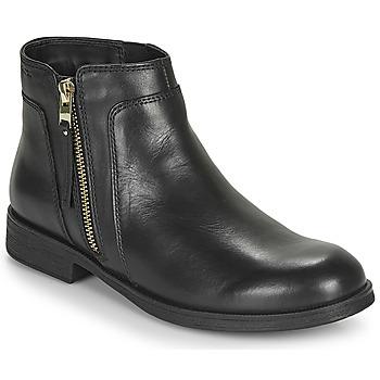 Zapatos Niña Botas de caña baja Geox JR AGATA Negro