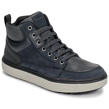 Zapatos Niño Zapatillas altas Geox J MATTIAS B BOY ABX Azul / Negro