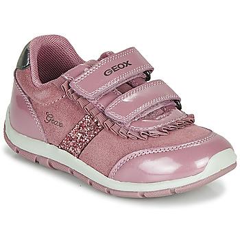 Zapatos Niña Zapatillas bajas Geox B SHAAX Rosa