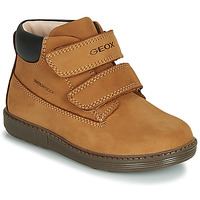 Zapatos Niño Zapatillas altas Geox B HYNDE BOY WPF Marrón