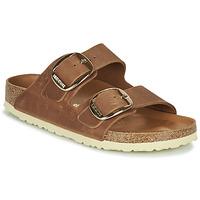 Zapatos Mujer Zuecos (Mules) Birkenstock ARIZONA BIG BUCKLE Brown