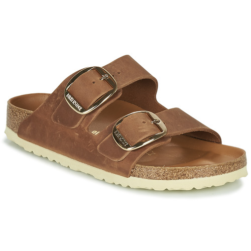 Zapatos Mujer Zuecos (Mules) Birkenstock ARIZONA BIG BUCKLE Marrón