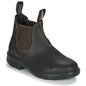 Zapatos Niña Botas de caña baja Blundstone KIDS-BLUNNIES-1992 Negro / Glitter