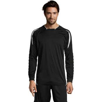 textil Hombre Camisetas manga larga Sols AZTECA SPORTS Negro