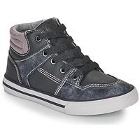 Zapatos Niño Zapatillas altas Chicco CAMILLO Azul / Gris