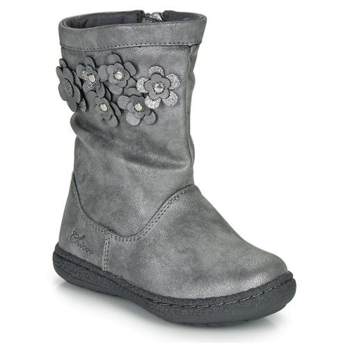 Zapatos Niña Botas urbanas Chicco CLEDIA Gris