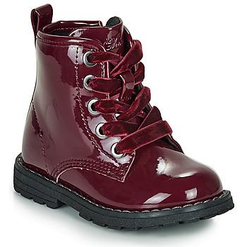 Zapatos Niña Botas de caña baja Chicco COLLES Rojo