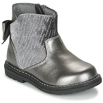 Zapatos Niña Botas urbanas Chicco CORRY Gris