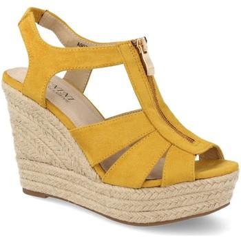 Zapatos Mujer Alpargatas Benini A9072 Amarillo
