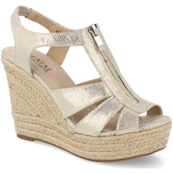 Zapatos Mujer Alpargatas Benini A9072 Plata