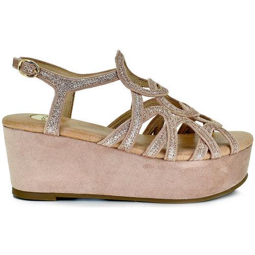 Color Plataforma Rosa 344 Exé Corfu Sandalia Glitter Shoes 2I9WDHE
