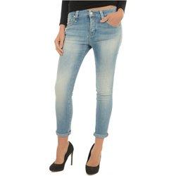 textil Mujer vaqueros slim Meltin'pot Jeans LAKITA D1669 UK420 azul