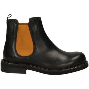 Zapatos Mujer Botas de caña baja Mat:20 VITELLO nero-nero