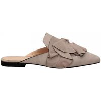 Zapatos Mujer Zuecos (Clogs) Elvio Zanon CAMOSCIO lavanda
