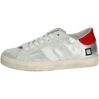 Zapatos Niños Zapatillas bajas Date HILL LOW  JR Plata