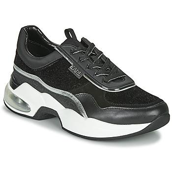 Zapatos Mujer Zapatillas bajas Karl Lagerfeld VENTURA LAZARE VELVET LACE Negro