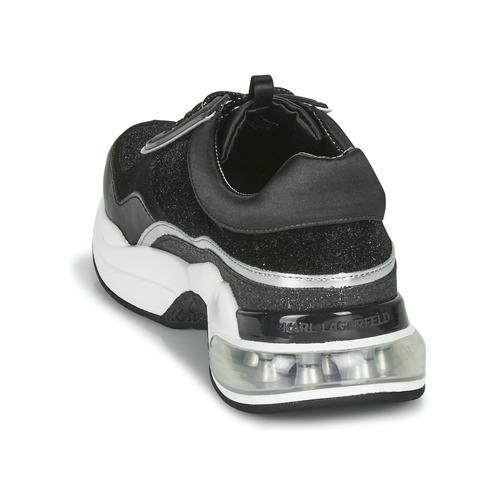 Zapatillas Karl Velvet Lace Bajas Ventura Zapatos Lazare Mujer Negro Lagerfeld kZiPXu
