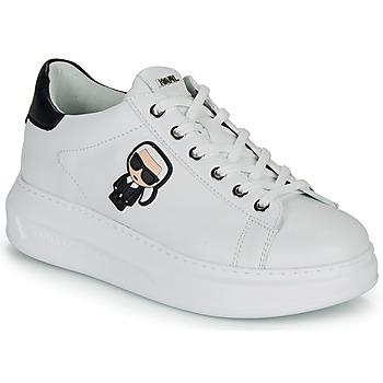 Zapatos Mujer Zapatillas bajas Karl Lagerfeld KAPRI KARL IKONIC LO LACE Blanco / Negro