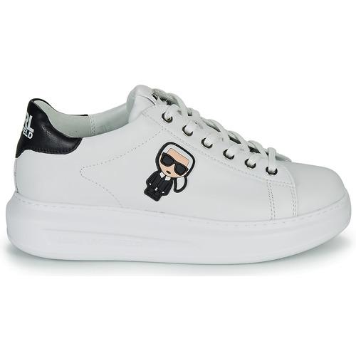BlancoNegro Zapatillas Kapri Lace Mujer Karl Lagerfeld Ikonic Bajas Zapatos Lo I7yvgY6fmb