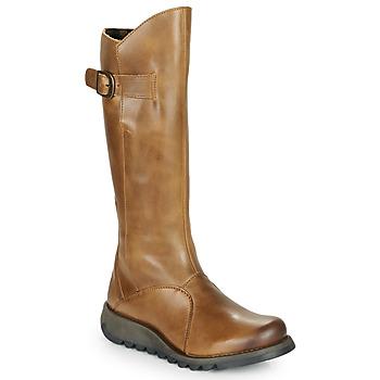Zapatos Mujer Botas urbanas Fly London MOL 2 Camel
