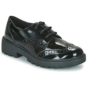 Zapatos Niña Derbie Geox J CASEY G Negro