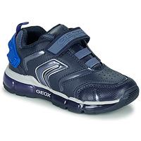 Zapatos Niño Zapatillas bajas Geox J ANDROID B Azul