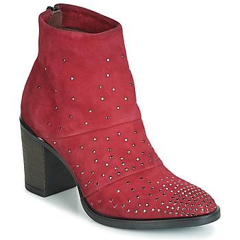 Zapatos Mujer Botines Metamorf'Ose FALCAO Rojo