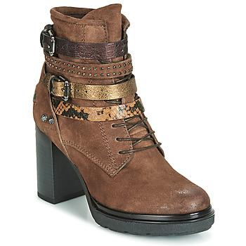 Zapatos Mujer Botines Metamorf'Ose FALENCIA Camel
