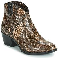 Zapatos Mujer Botas de caña baja Metamorf'Ose FALERS Serpiente