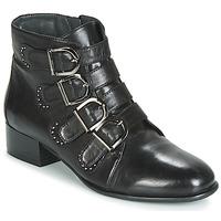 Zapatos Mujer Botas de caña baja Metamorf'Ose FAMO Negro