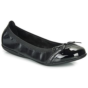 Zapatos Mujer Bailarinas-manoletinas Chattawak CAPRICE Negro